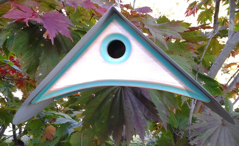 Modern Birdhouse Outdoor Bird House Unique Birdhouses