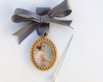 Gold Bouquet Charm, Gold Photo Frame Locket, Wedding Keepsake, Bridal, Bouquet Locket Charm, Gold Bouquet Charm