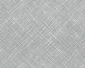 Architextures Crosshatch in Shale, Carolyn Friedlander, Robert Kaufman Fabrics, 100% Cotton Fabric, AFR-13503-335 SHALE