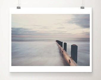 beach photograph ocean photograph sunset photograph beach print ocean print coastal print beach house decor norfolk photograph