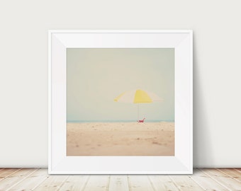 beach photograph beach umbrella photograph seaside photograph coastal print beach house decor beach print umbrella print