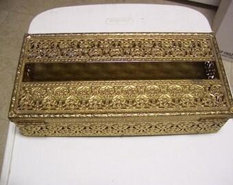 Metal Tissue Box/Holder  5x10x2.5 inches