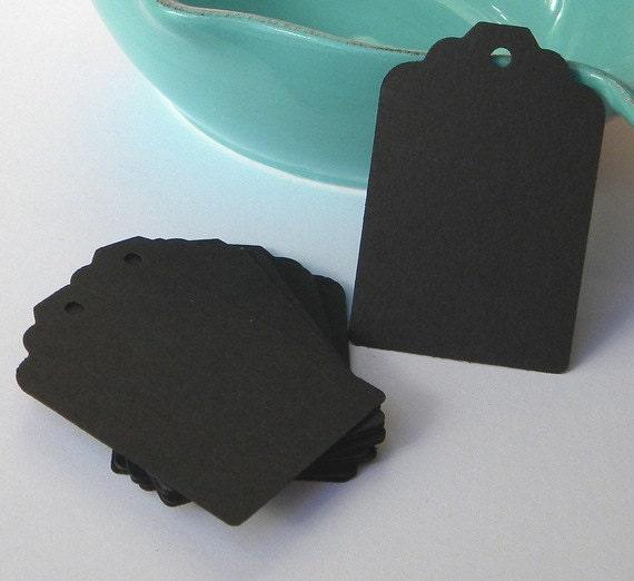 Basket Weaving Supplies Raleigh Nc : Black tags paper gift wedding