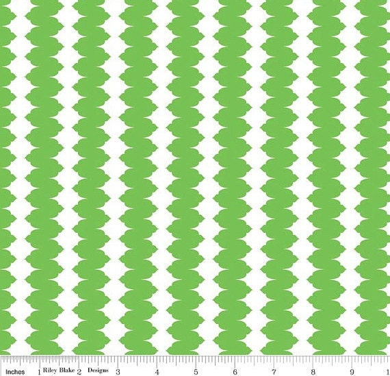 Madhuri green fabric c3354 riley blake by the by for Fabric by the yard near me
