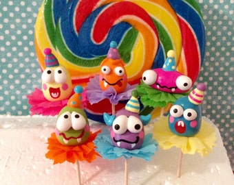 Monsters/Scary Monsters Cupcake Toppers