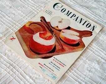 Vintage Woman's Home Companion Magazine, Oct 1951