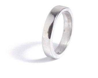 10 Year Anniversary Ladies Tin Ring