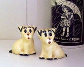 Puppy Dog Salt and Pepper Shakers