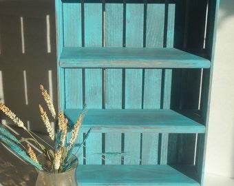 Spice Rack or Display Shelf - Spice Crate - DREAMATHEME - Spice Shelving - knickknack Display Shelves - Kitchen Shelving - Kitchen Shelf