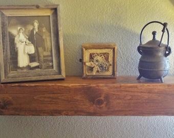 Floating Shelf Mantel or Beam-Wooden Shelving-Wooden Mantel Shelf-Wooden Beam-Floating Beam Shelf