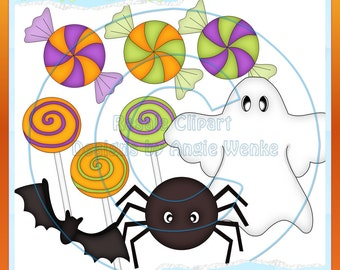 Halloween Fun Clipart (Digital Download ZIP file)