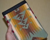 Kindle Sleeve - kindle voyage kindle paperwhite kindle touch kindle fire - Chief Joseph blanket weight Oregon wool - TAILORED to your DEVICE
