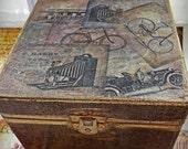 SALE: Gifts for Men, OOAK Gifts,Gentlemans Vintage Grooming Set, Gentlemen's Travel Box, Steampunk Time Travel Kit, Was 138 now 100