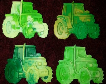 Recycled Crayons. Tractor Crayons. Kids Crayons. Tractor. John Deere. Party Favors. Crayons. Rainbow Crayons. Farm. Farm Animal.