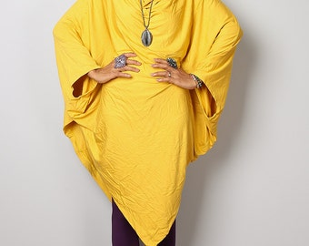 Yellow Tunic / Batwing Tunic / Yellow Top : Urban Chic Collection no.8