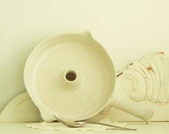 Batter Bowl - Seagrove NC Pottery - Stoneware Servingware - Cottage Decor - Wheel Thrown Pottery -
