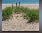 """Beach Photograph, Inspirational Photo, Psalms Quote, Nature Photography, 5x7, 8x10, """" This is the day the Lord has made..."""""""
