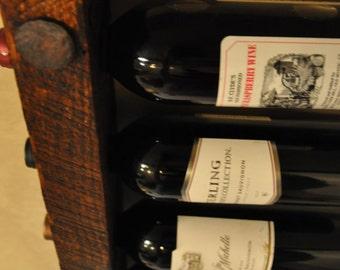 Tuscan Wine Rack 12 Bottle Stacked