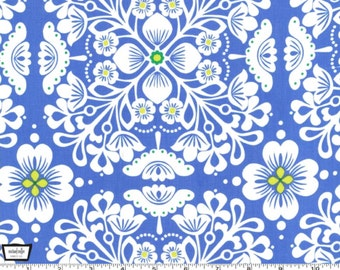 SALE - Pippa - Blue - Cotton Print Fabric from Michael Miller