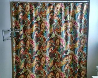 Shower Curtain Navy Blue Starfish Navy Blue/White Starfish