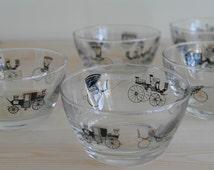 Vintage Libbey Curio Bowls by Freda Diamond
