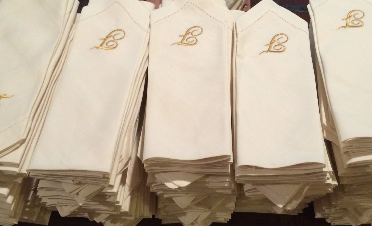 Bulk Monogrammed Wedding Napkins By WhiteTulipEmbroidery On Etsy