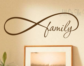 family infinity etsy. Black Bedroom Furniture Sets. Home Design Ideas