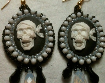 Day of the Dead Pirate Earrings