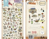 Brunch Day - Sonia Stickers - PVC Deco Sticker - 1 Sheet