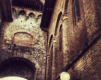 San Gimignano - Lustre matte photo print of Italy