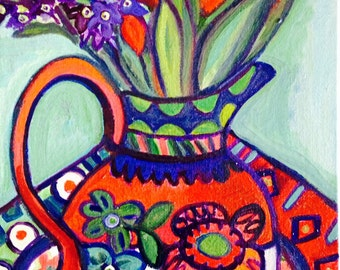 Tiulips and Hyacinths