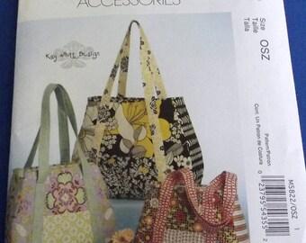 Set of Three Fabric Fashion Bags