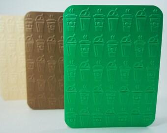 Coffee Card, Blended Coffee Cards, Java Card, Iced Coffee Card, Hot Coffee Card, Frozen Coffee Card, Milk Shake Card, Coffee Cup Card Blank