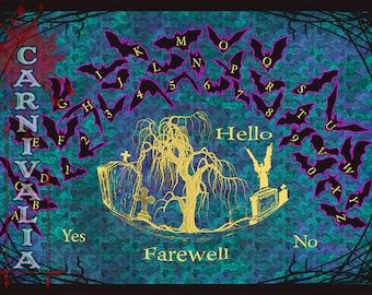 Boneyard Bats Spirit Board, Ouija style Talkingboard