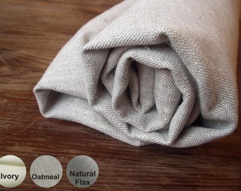 Simple and Soft Hand Towel Wash Cloth Pure Linen Flax Natural - Rustic Country style -  in 3 colors