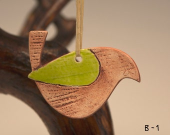 Ceramic hanging ornament