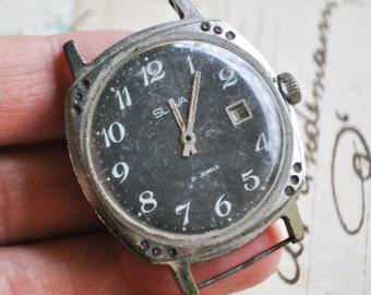 Vintage Soviet wrist watch .Didn't work.