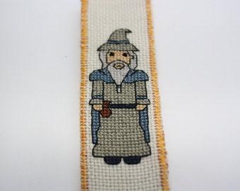 Wizard bookmark cross stitch