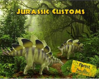 Custom painted Stegosaur