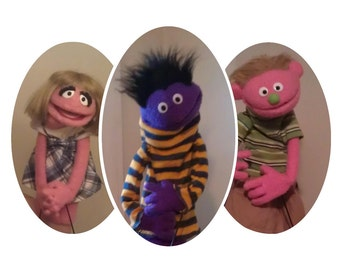 Custom Made Klassic Kids Puppets - Professional Use