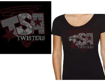 TSA Twisters Custom BLiNg Rhinestone Shirt/Hoodie