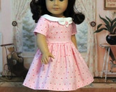 Valentine's Dress for Dolls like Ruthie,Kit,Molly or Emily