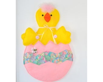 Easter Home Decor Easter Wall Hanging Easter Door Hanging Easter home Decoration Easter Chick  Decor Easter Chick Door Decor