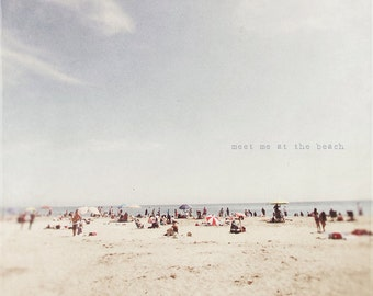 Sea Lover, Ocean Lover, Beach Lover, Typography Photo, Photo Quote, Beach Photo, Beach Print, Seaside Print, Seaside Art, Santa Cruz Beach