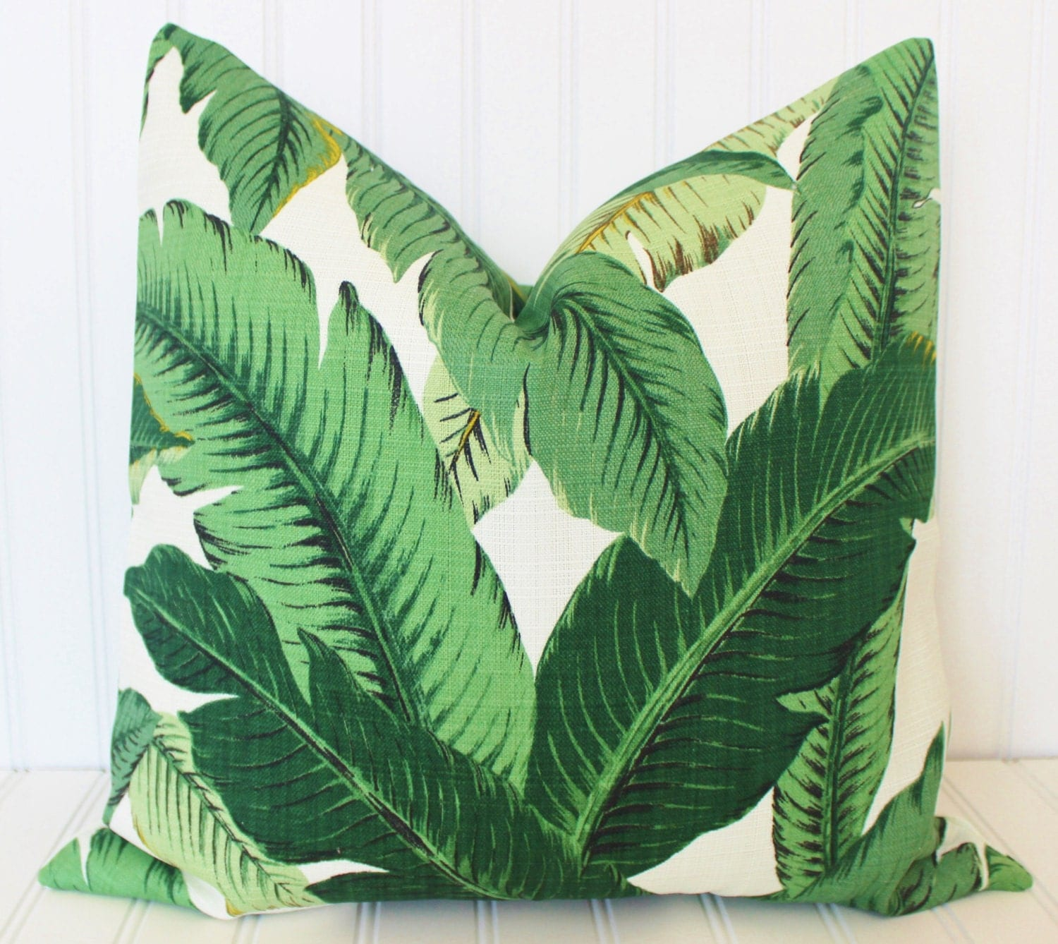 Decorative Pillow Palm Tree : Banana Leaf Pillow Palm Pillow Throw Pillow Cover