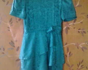 Vintage silk Maggy London dress