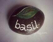 Herb Garden Rocks - Basil