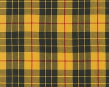 Yellow Plaid From The House of Wales By Robert Kaufman