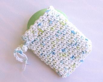 Cotton Soap Bag Body Scrubber