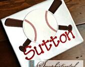 Baseball and Bats Shirt - You Customize